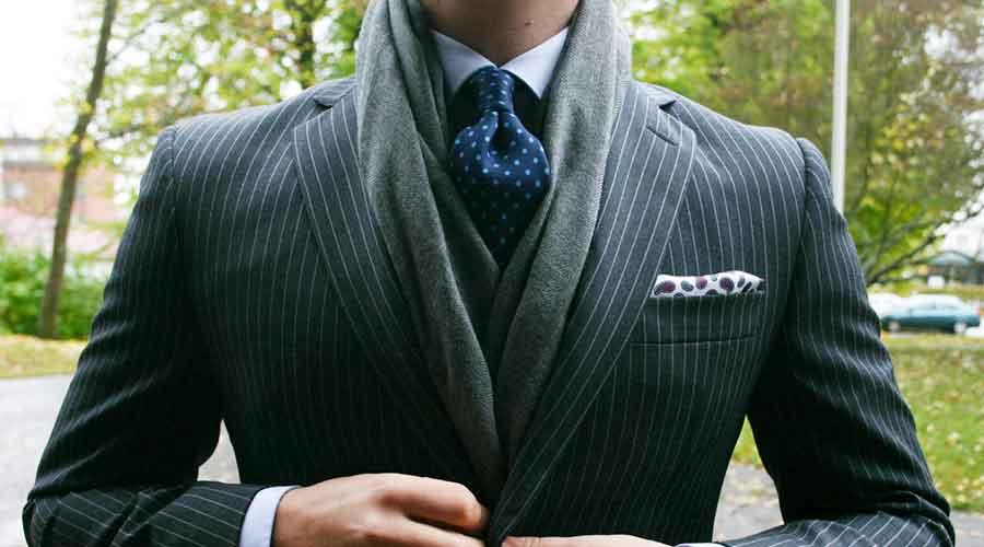 بافتنی شال گردن و شال بافت مردانه در فروشگاه اینترنتی مد و لباس دیجی استایل