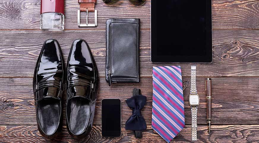 کراوات مردانه طرح دار شیک
