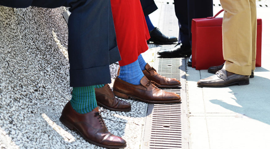 انواع مدل جوراب مردانه