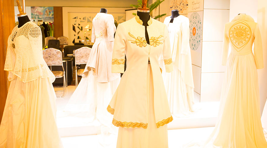 مدل لباس عروس فرانسوی جشنواره مد و لباس فجر