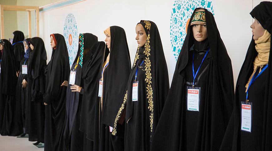 انواع مدل چادر ایرانی جشنواره مد و لباس فجر