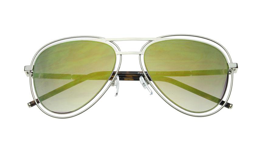 عینک آفتابی شیشه سبز