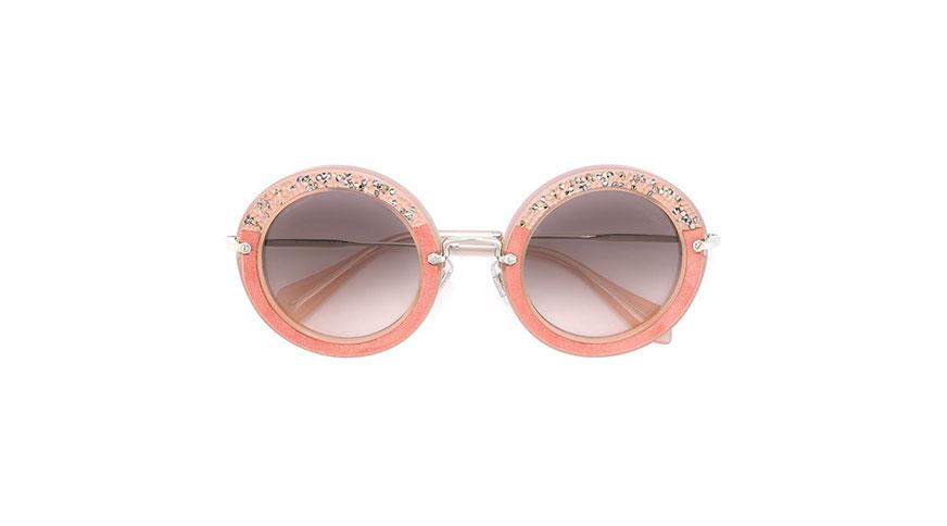 عینک زنانه نگیندار