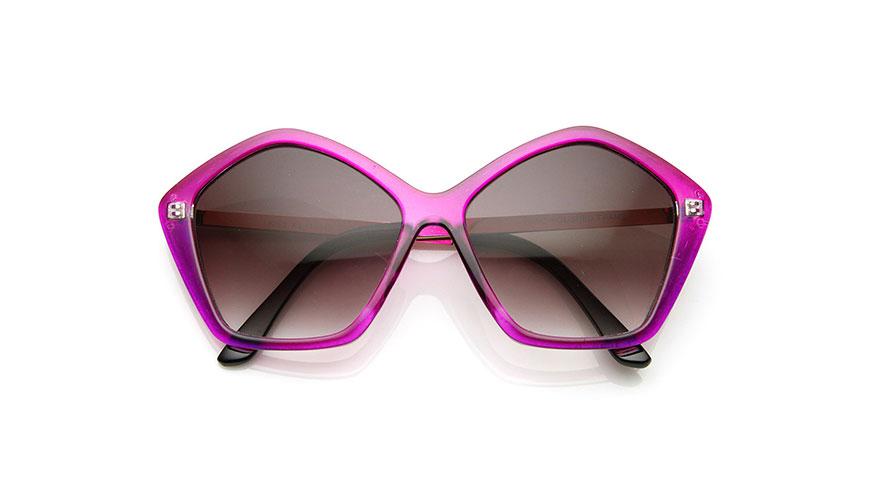 عینک با شکل هندسی منتظم