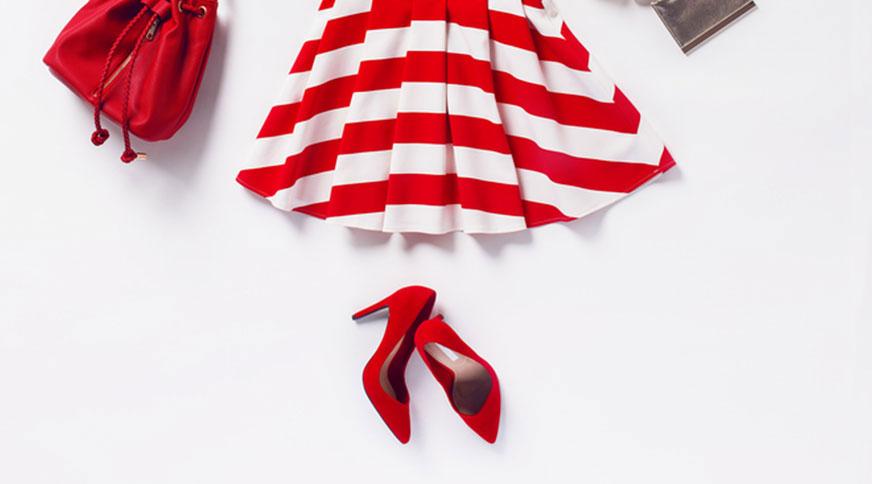 تیپ تابستانی پیراهن کوتاه زنانه