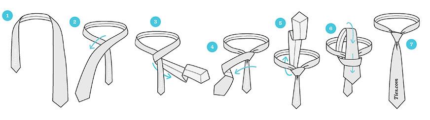 گره کراوات دانش آموزی