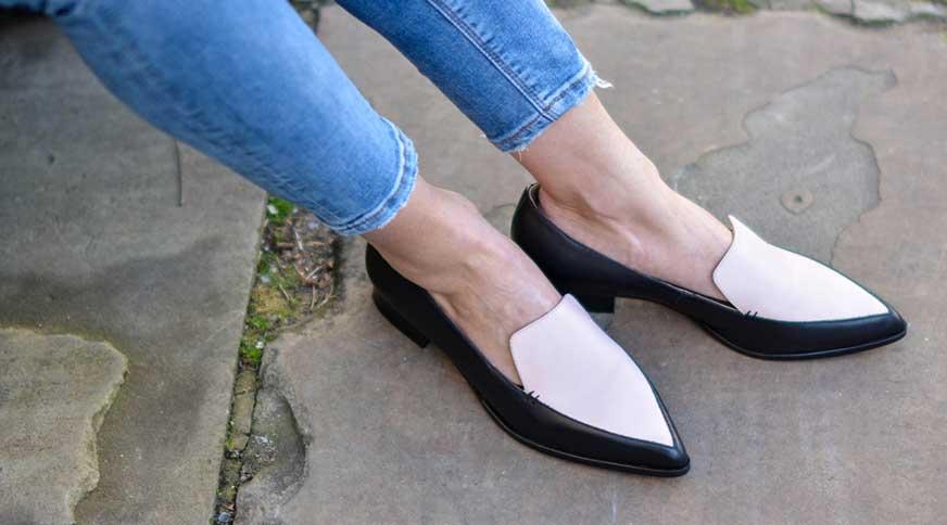 مدل کفش زنانه تابستانی تخت