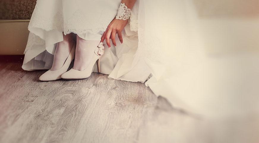 bride shoes - انتخاب مدل کفش عروس