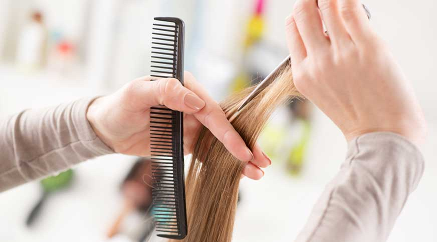 hair cut - عروس ، بایدها و نبایدهای قبل از جشن