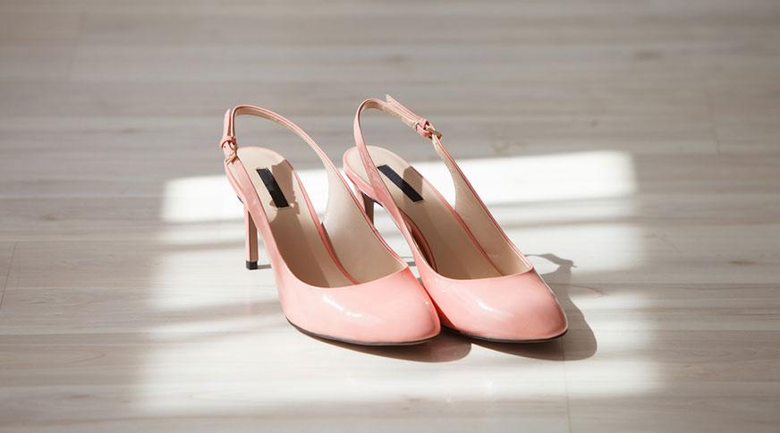 light pink bride shoes - انتخاب مدل کفش عروس