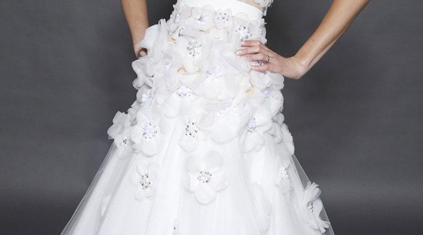 s d dress - مدل لباس عروس های امسال را بشناسید