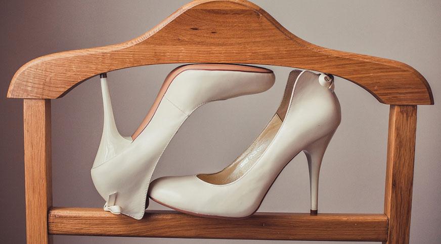simple bride shoes - انتخاب مدل کفش عروس