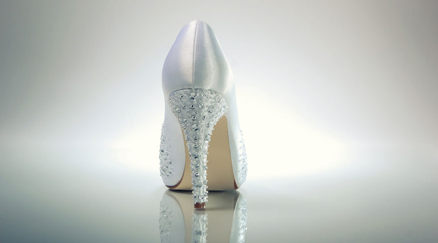 sparkle bride shoes - انتخاب مدل کفش عروس
