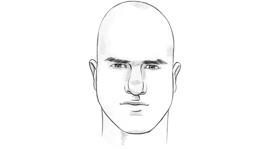 فرم صورت مثلثی
