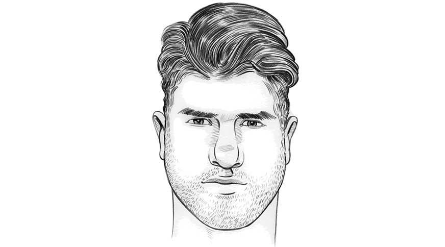 مدل مو برای صورت مثلثی