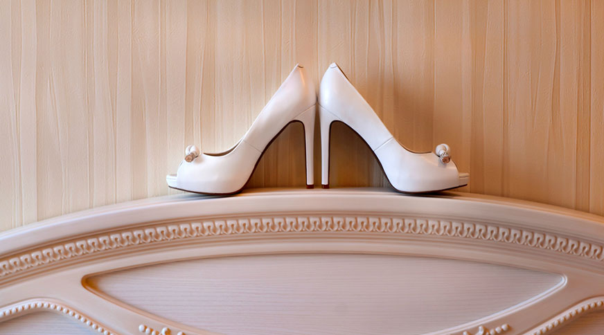 white bride shoes 2017 - انتخاب مدل کفش عروس