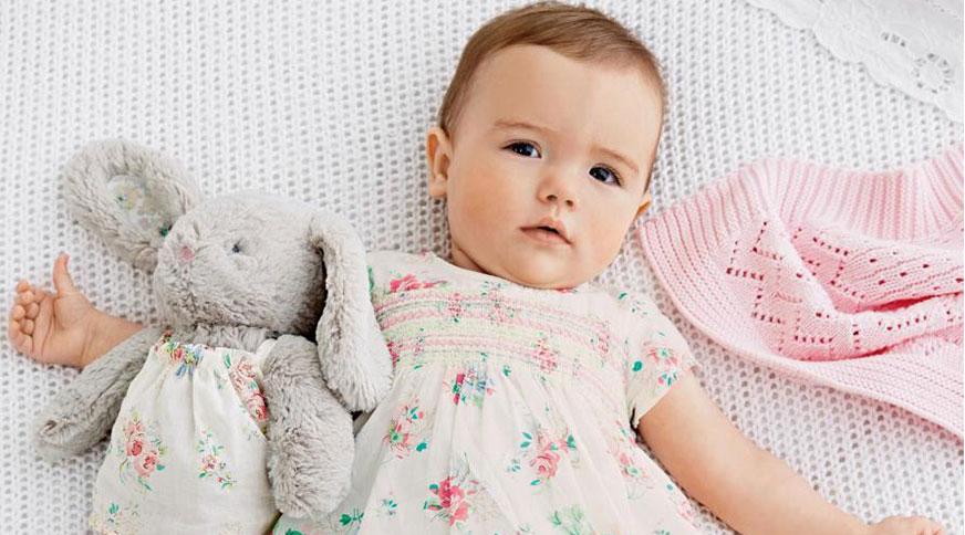 مدل لباس نوزاد دختر