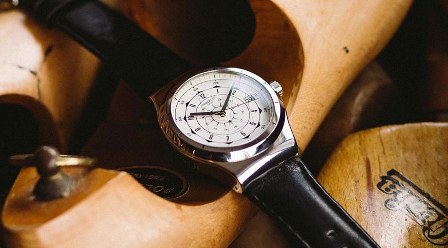مدل ساعت مچی چرم مردانه