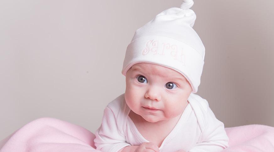کلاه نوزاد دختر جدید