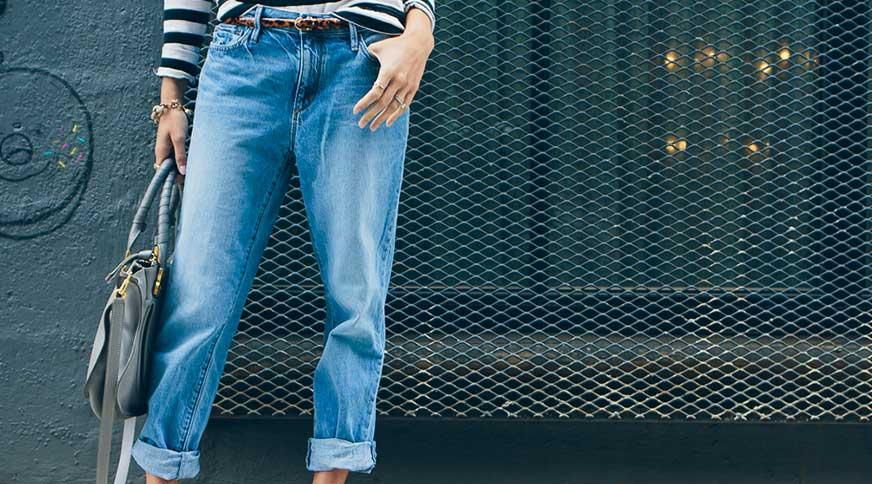 مدل شلوار جین بوی فرند