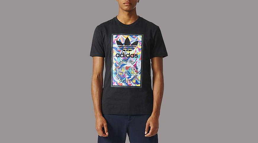 تی شرت مردانه آدیداس مشکی حراج آدیداس