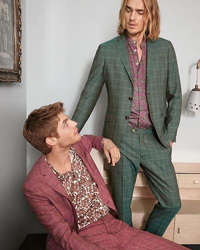 مدل کت شلوار رنگی مردانه جدید شیک
