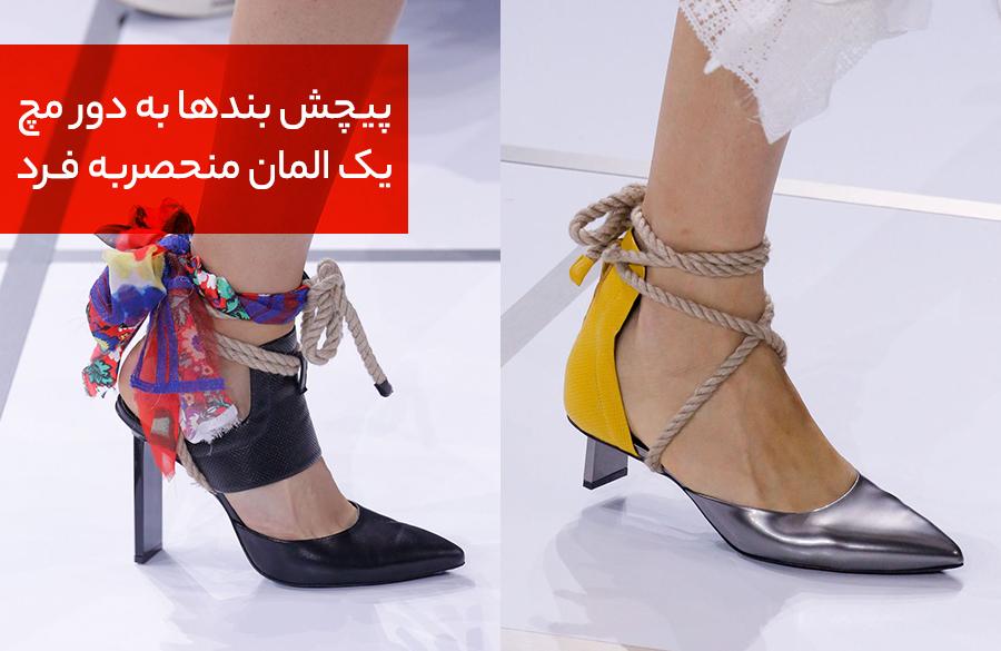 مد 2018 انواع کفش بهار و تابستان زنانه