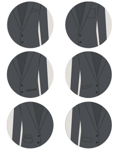 نکات در مورد انواع کت تک مردانه جدید
