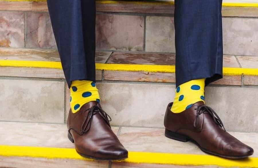 جوراب رنگی مردانه