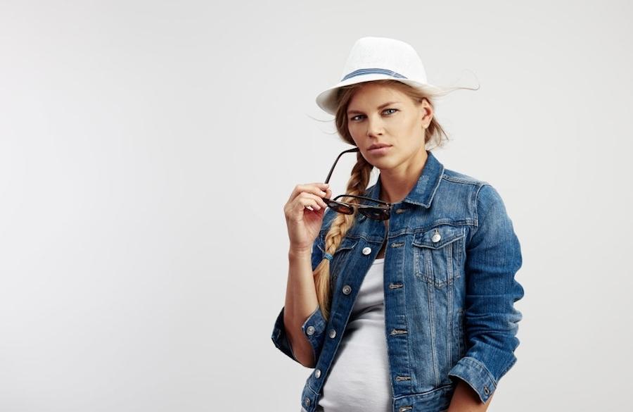 لباس جدید بارداری - لباس جین