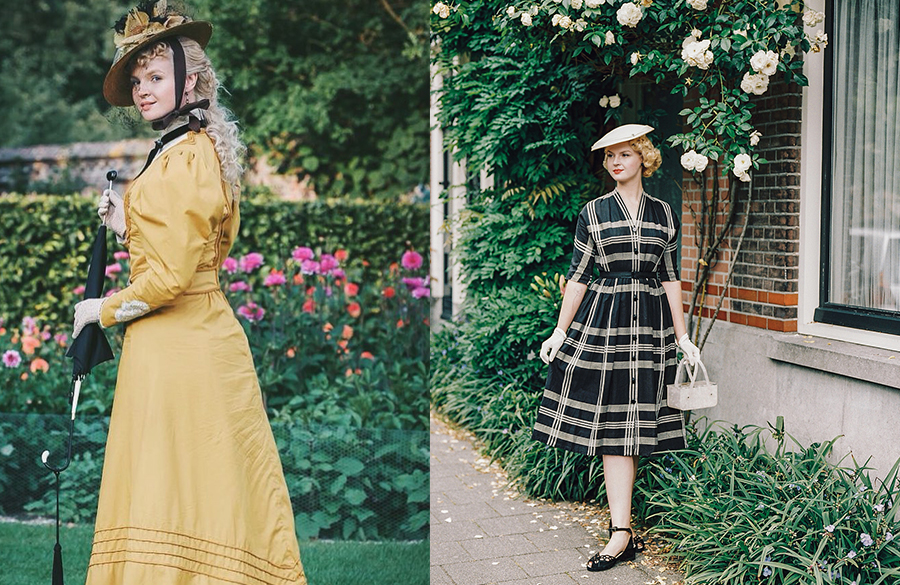 لباسهای مختلف نماینده سبک هر دوره